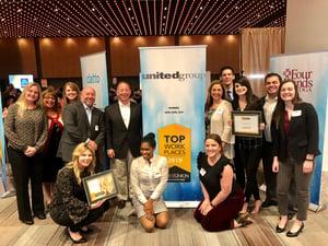 2019 TU Top Work Place Award Photo-1