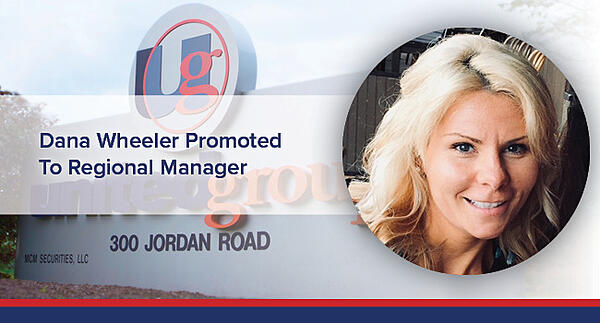 Dana Wheeler promoted to Regional Manager.