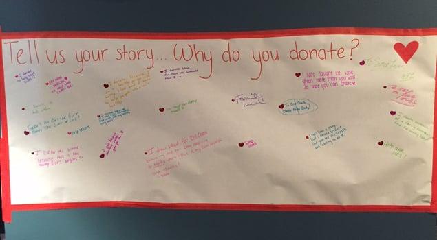 Why we donate