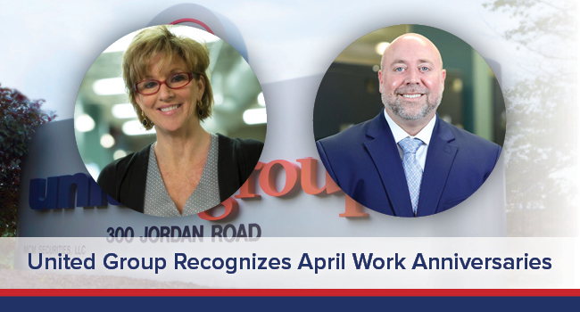 UGOC SPOTLIGHT: United Group Recognizes April Work Anniversaries