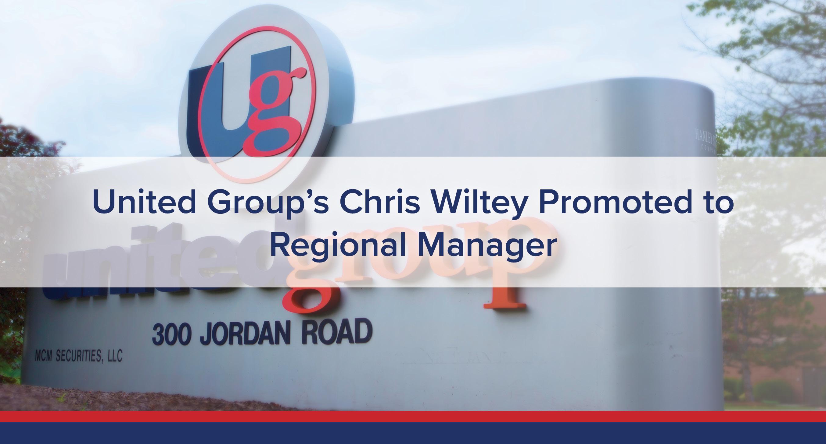 UGOC Spotlight: Chris Wiltey Promoted to Regional Manager