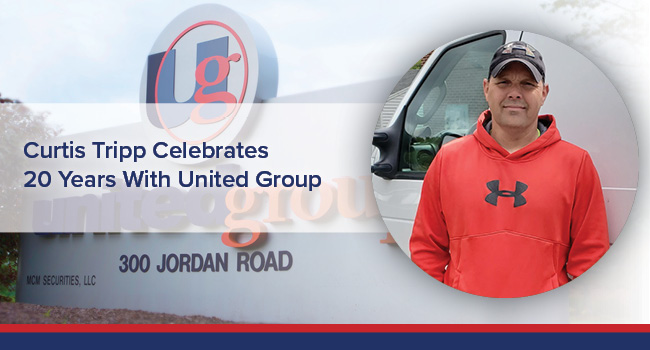 UGOC Spotlight: Curtis Tripp Celebrates 20 Years With United Group