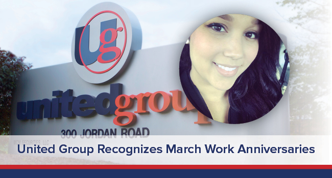 UGOC SPOTLIGHT: United Group Celebrates March Work Anniversaries