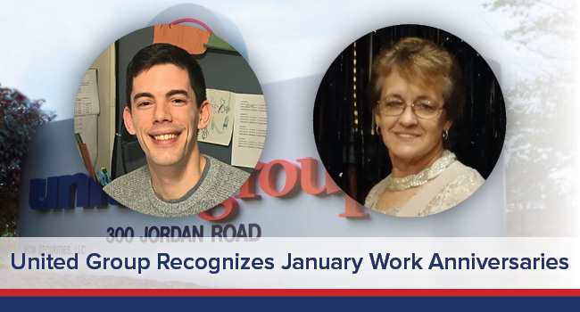 UGOC Spotlight: United Group Recognizes January Work Anniversaries