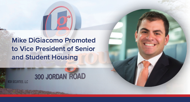Mike DiGiacomo Promoted to Vice President of Senior and Student Housing