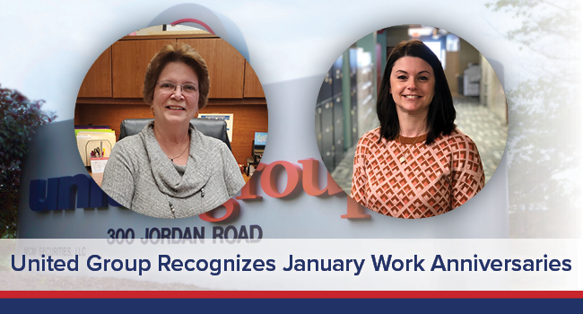 UGOC Spotlight: United Group Recognizes January Work Anniversaries