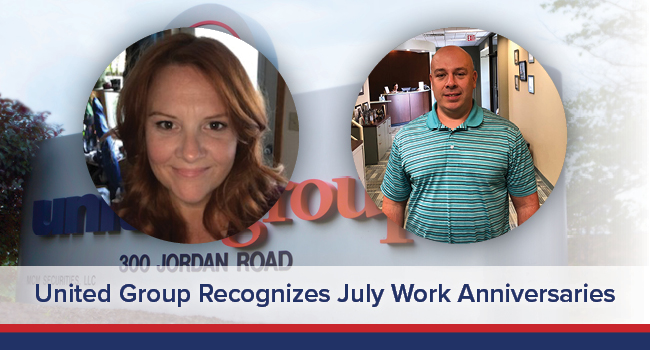 UGOC Spotlight: United Group Recognizes July Work Anniversaries