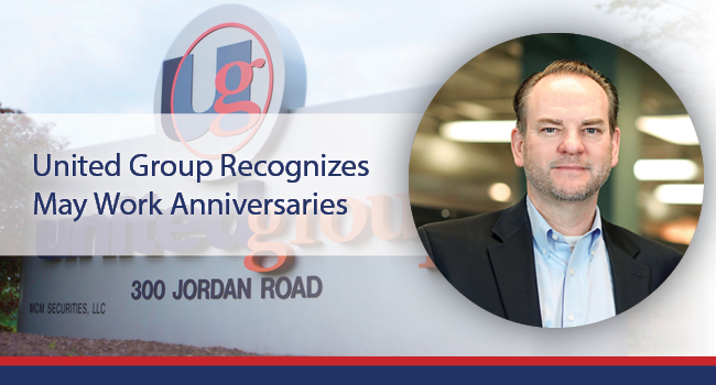 UNITED GROUP RECOGNIZES MAY WORK ANNIVERSARIES