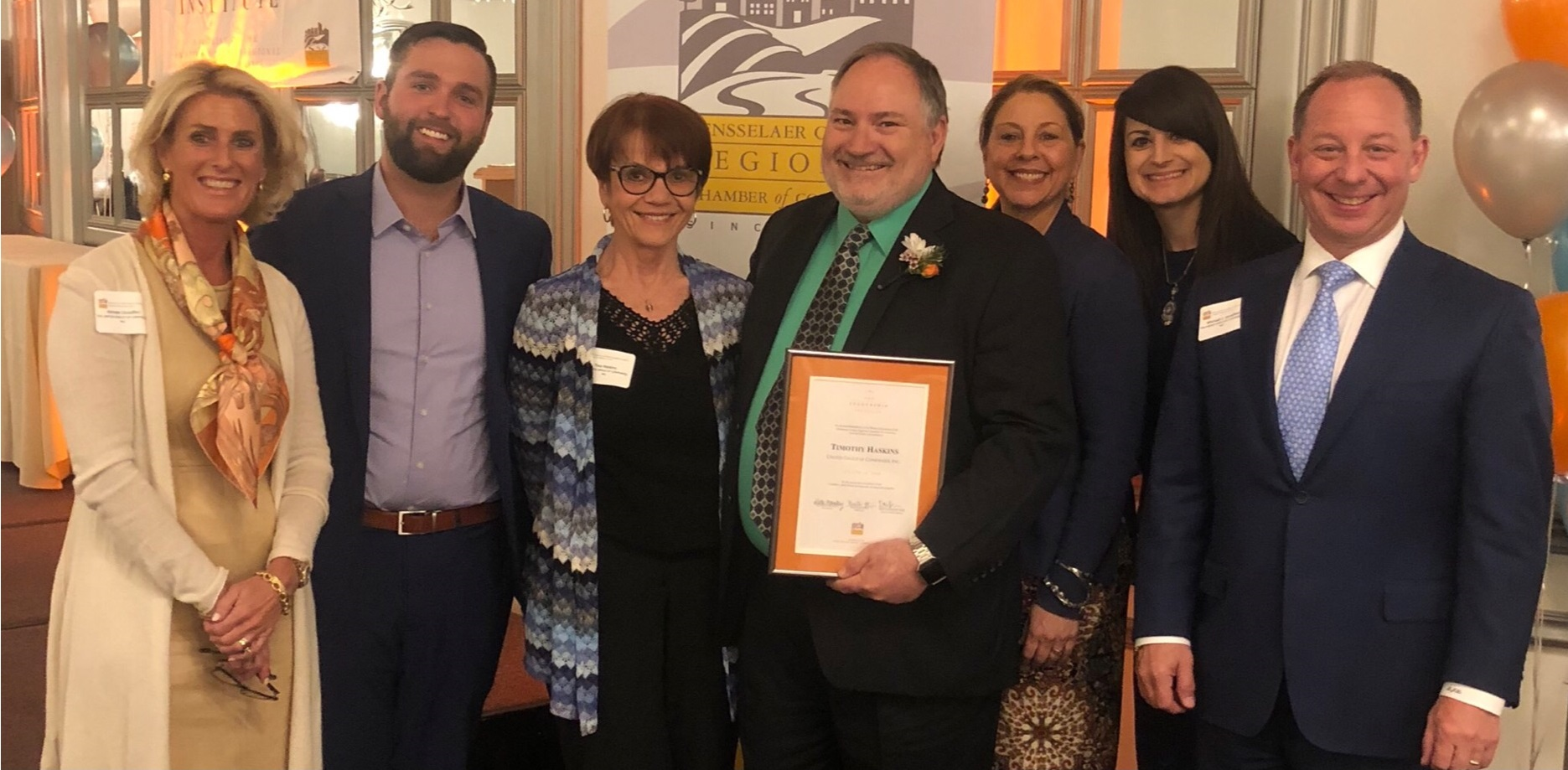 United Group's Tim Haskins Honored At Leadership Institute Class Of 2019 Ceremony