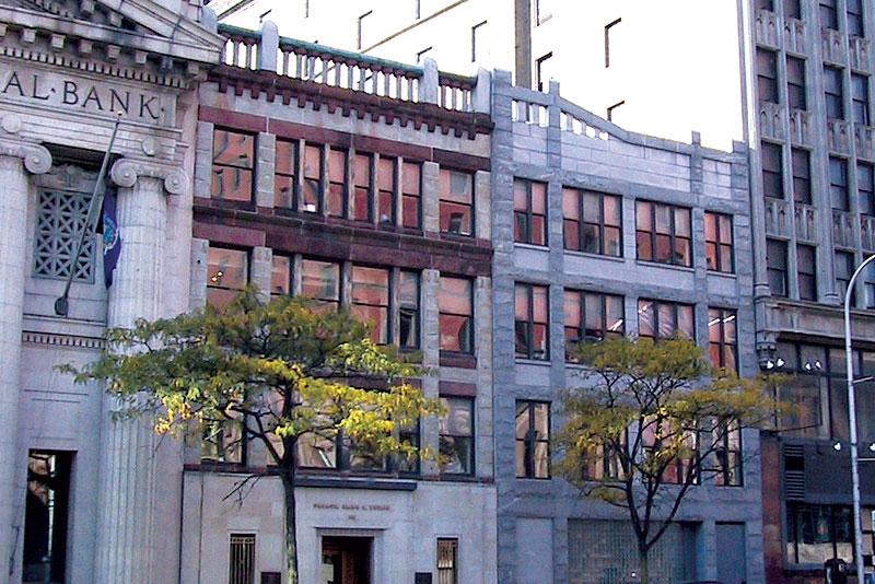 Urbach, Kahn & Werlin Building