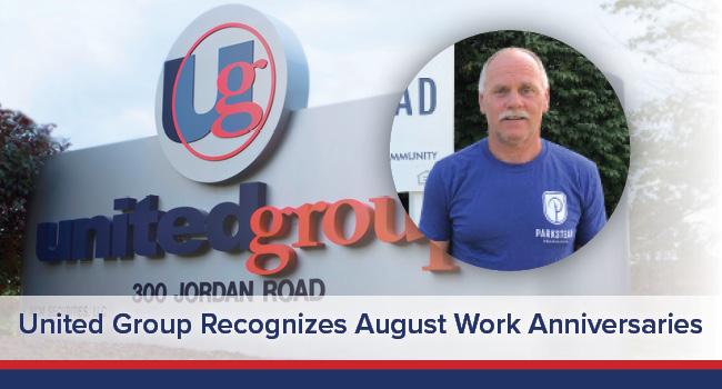 UGOC Spotlight: United Group Recognizes August Work Anniversaries