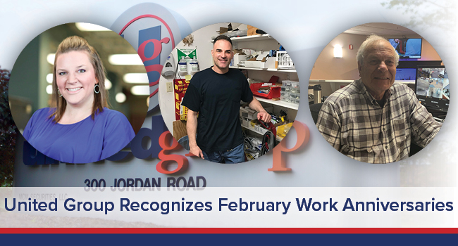 UGOC Spotlight: United Group Recognizes February Work Anniversaries