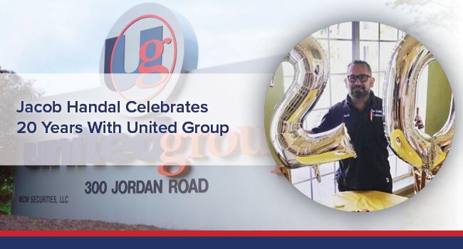 UGOC Spotlight: Jacob Handal Celebrates 20 Years With United Group