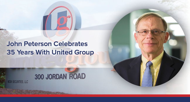 UGOC Spotlight: John Peterson celebrates 35 years with united group