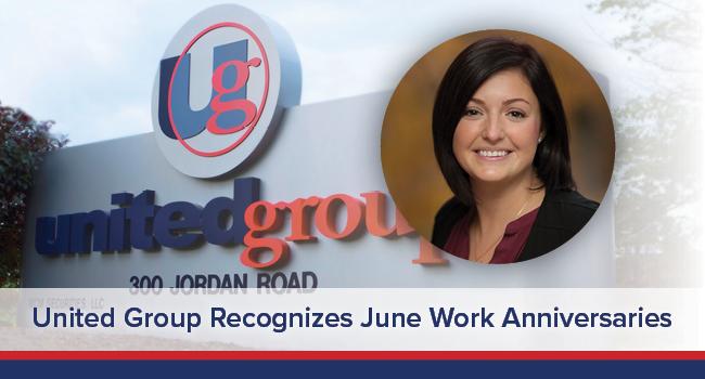 UGOC Spotlight: United Group Recognizes June Work Anniversaries